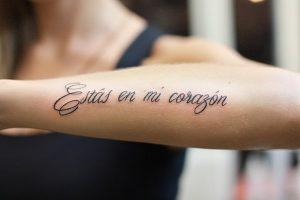 При грешен превод на татуировка премахването и е много трудно