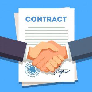 Договор между клиент и преводач като гаранция за изпълнение на работата по превода и заплащане за труда
