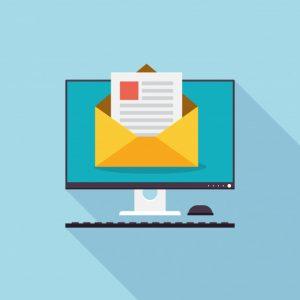 Целева електронна поща с уведомление за услуги за преводач